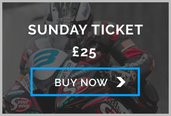 Oliver's Mount Sunday Entry Ticket