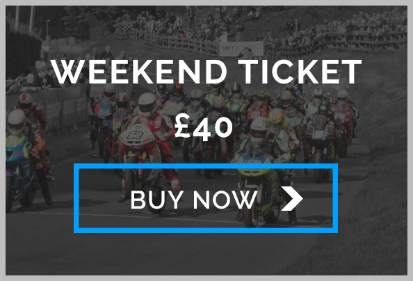 Oliver's Mount Weekend Entry Ticket