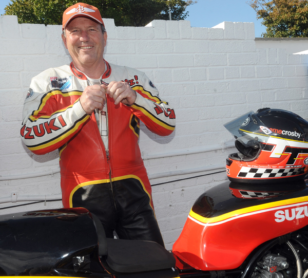 3-time TT winner Graeme Crosby will return to the Classic TT in August