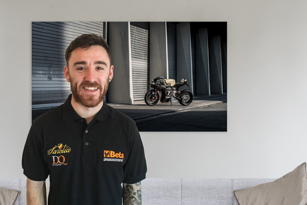 Sarolea's Isle of Man TT 2016 rider Lee Johnston