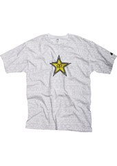 Rockstar Writing on the Wall T-Shirt White