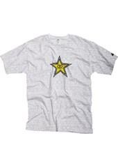 Rockstar Writing on the Wall T-Shirt White