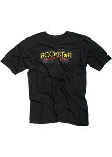 Rockstar Thread T-Shirt Black