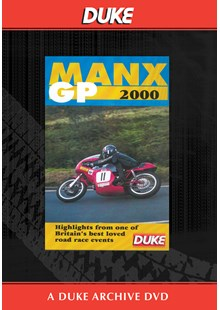 Manx Grand Prix 2000 Duke Archive DVD
