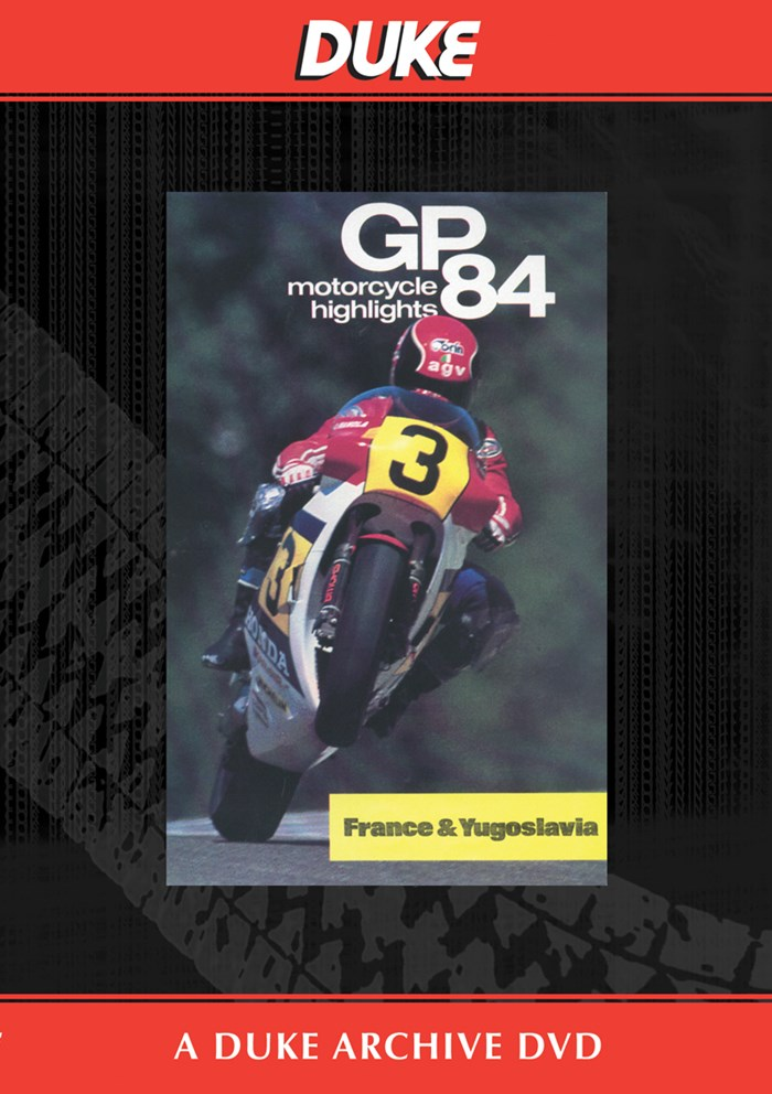 Bike GP 1984 - France & Yugoslavia Duke Archive DVD