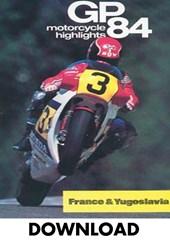 Bike GP 1984 - France & Yugoslavia Download
