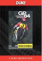 Bike GP 1984 - Holland & Belgium Duke Archive DVD