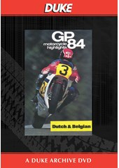 Bike GP 1984 - Holland & Belgium Duke Archive DVD