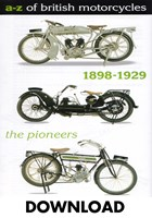 A-Z  of British Motorcycles Vol 1 1898-1929 Download