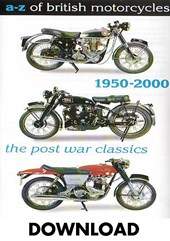 A-Z of British Motorcycles Vol 3 1950- 2000 Download