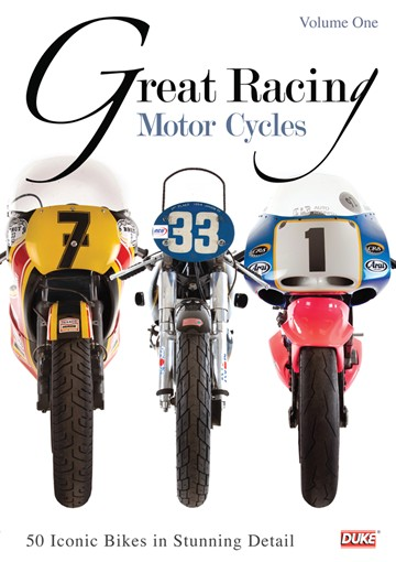 Great Racing Motorcycles Vol 1  DVD - click to enlarge