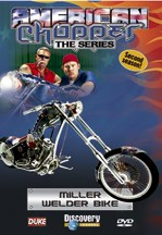 American Chopper Miller Welder Bike DVD