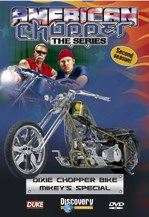 American Chopper Dixie Chopper Bike & Mikeys Special DVD