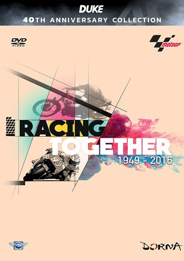 Racing Together 1949-2016 A History of MotoGP DVD - click to enlarge