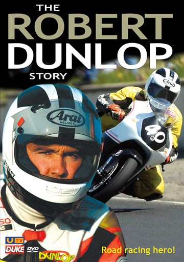 Robert Dunlop Story DVD - click to enlarge