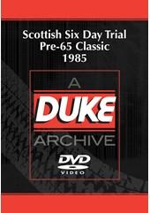 Scottish Six Day Trial Pre-65 Classic 1985 Duke Archive DVD
