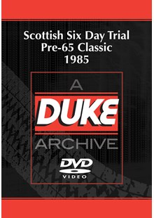 Scottish Six Day Trial Pre-65 Classic 1985 Duke Archive DVD