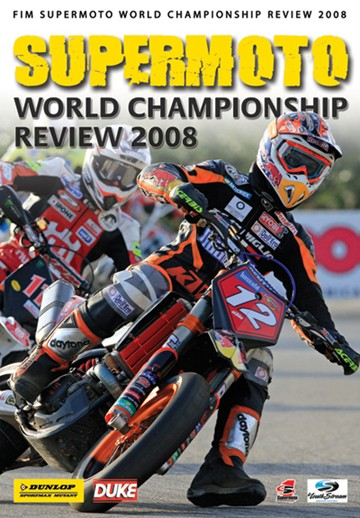 Supermoto World Championship Review 2008 NTSC DVD - click to enlarge