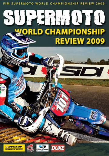Supermoto World Championship Review 2009 NTSC DVD  - click to enlarge