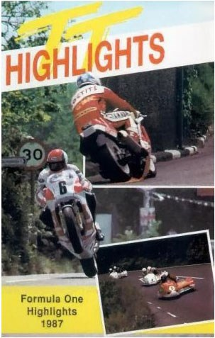 TT 1987 F1 Race Duke Archive DVD