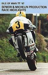 TT 1987 Senior & Production Races Duke Archive DVD
