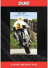 TT 1987 Sidecar, F2 & Junior Highlights Duke Archive DVD