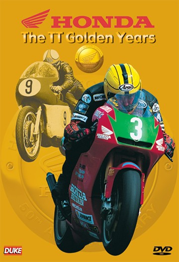 Honda the TT Golden Years DVD - click to enlarge