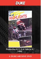 TT 1988 Production B, C, D & Sidecar A  Duke Archive DVD