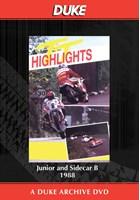 TT 1988 - Junior & Sidecar B Races Duke Archive DVD