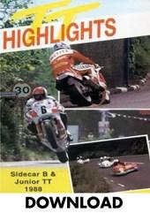 TT 1988 Junior & Sidecar B Highlights Download