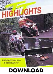 TT 1989 Production & Sidecar B Highlights Download