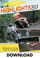 TT 1989 Production 1300 & Junior Races Duke Archive Download