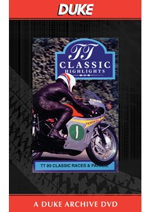 TT 1989 Classic Races & Parade Duke Archive DVD