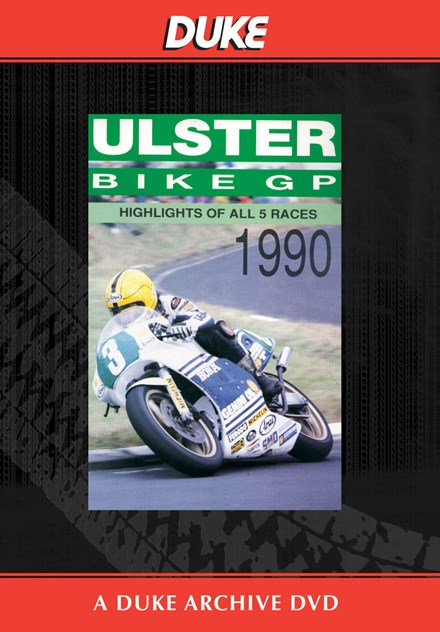 Ulster Grand Prix 1990 Duke Archive DVD