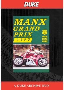 Manx Grand Prix 1990 Duke Archive DVD