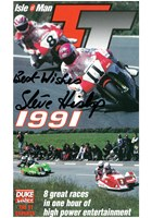 TT 1991 Standard Review VHS Signed by Steve Hislop