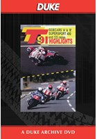 TT 1991 Sidecar A & B & Supersport 400 Races Duke Archive DVD