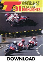TT 1991 Sidecar A & B & Supersport 400 Download