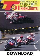 TT 1991 Sidecar A & B & Supersport 400 Download