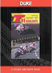 TT 1991 Junior & Supersport 600 Highlights Duke Archive DVD