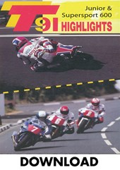 TT 1991 Junior & Supersport 600 Highlights Download