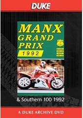 Manx Grand Prix & Southern 100 1992 Duke Archive DVD