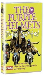 The Purple Helmets Total Sh*te VHS - click to enlarge