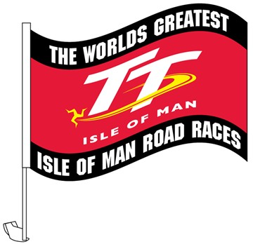 TT 2012 Car Flag - click to enlarge