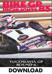 Bike GP 1985 - Yugoslavia Download