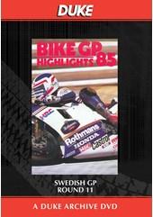Bike GP 1985 - Sweden Duke Archive DVD
