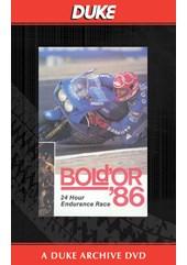Bol D Or 24 Hours  1986 Duke Archive DVD