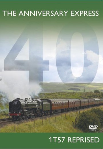 The Anniversary Express 1T57 Reprised DVD - click to enlarge