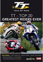 Top 20 Greatest Ever TT Riders DVD