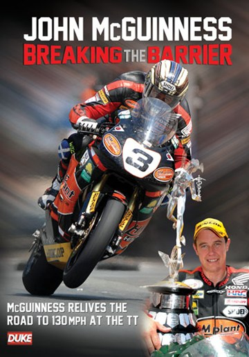 John McGuinness Breaking the Barrier DVD - click to enlarge